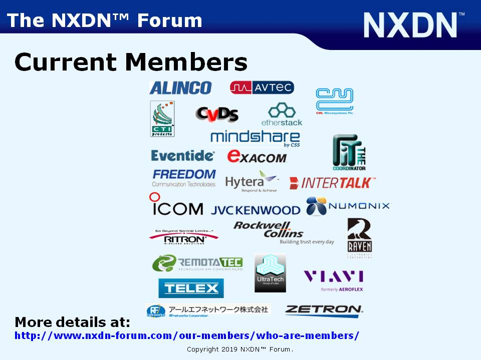 Resources | Resources | NXDN Forum Website